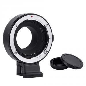 Adaptador de Lente de Enfoque Commlite CM-EF-FX EF/EF-S para Fujifilm