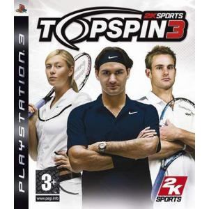 Juego PlayStation 3 TOPSPIN3-PS3
