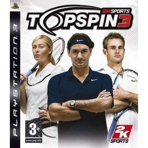 Juego PlayStation 3 TOPSPIN3-PS3