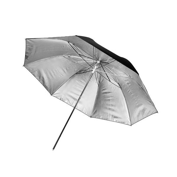 Paraguas negro y plata Aputure 101 cm
