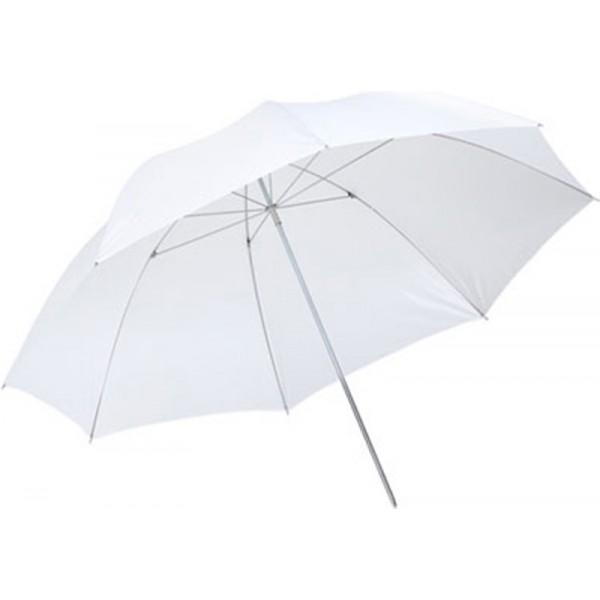 Paraguas blanco traslúcido 84 cm