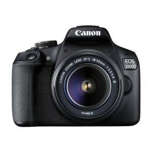 Cámara Réflex Canon EOS 2000D + 18-55mm F3.5-5.6 III