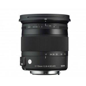 Sigma 17-70mm f/2.8-4 DC OS MACRO HSM serie contemporary para nikon