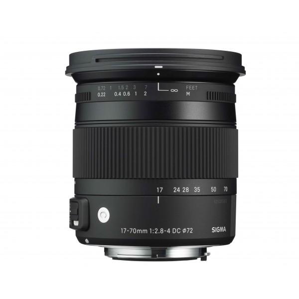 Sigma 17-70mm f/2.8-4 DC OS MACRO HSM | Contemporary para nikon