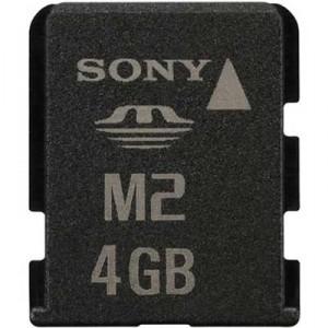 Tarjeta Sony ms micro M2 4GB