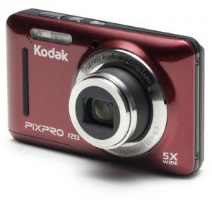 Cámara digital Kodak PIXPRO FZ53 ROJA