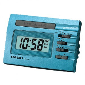 Reloj Despertador Casio digital DQ-541D-2