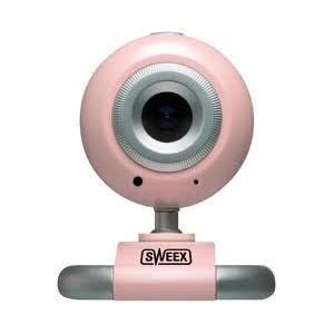 Webcam Sweex USB Pink WC156