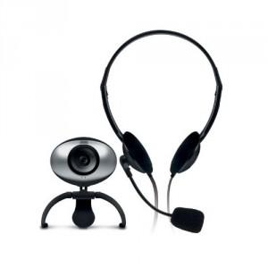 Webcam Sweex Internet Chatpack WC920 + auriculares