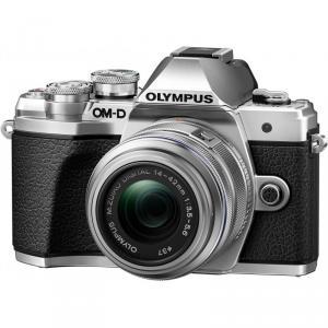 Olympus OM-D E-M10 MARK III + 14-42mm II R Plateada