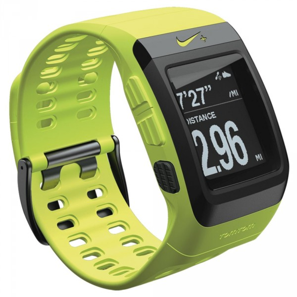 Nike SportWatch (Tomtom) con GPS verde