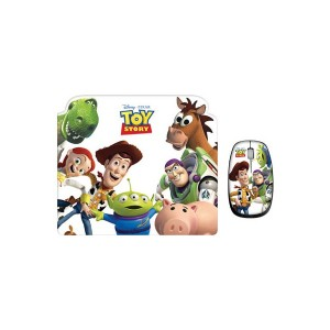 Ratón + Alfombrilla Toy Story Disney