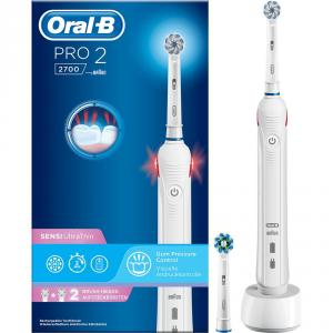Cepillo Dental Braun PRO2700 Blanco