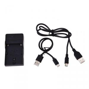 Cargador de viaje Ultrapix con cable usb para bateria NPF970