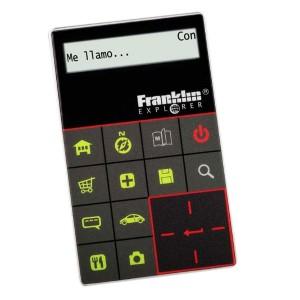 Traductora tarjeta 11 idiomas Franklin ET-2011