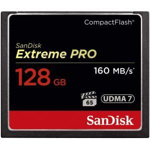 Tarjeta CF Extreme Pro Sandisk 128GB 160MB/s