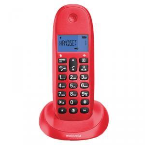 Teléfono inalámbrico Motorola C1001LB Rojo