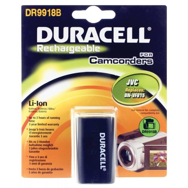 Bateria Duracell DR9918B para JVC