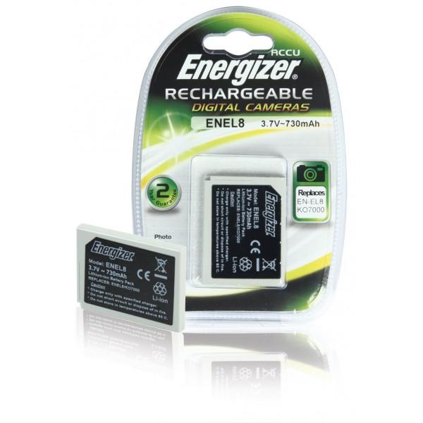 Batería Energizer ENEL8 para Nikon