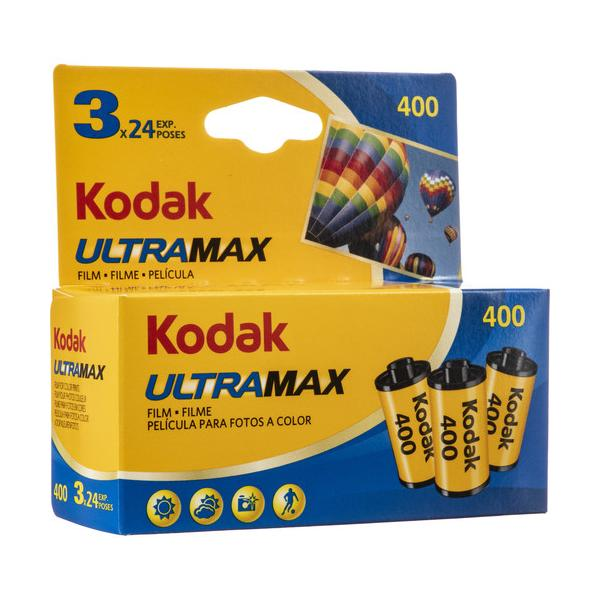 Carrete KODAK Ultra Max 400 Pack 3