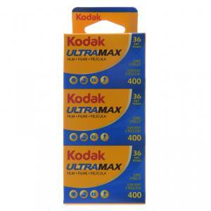 Carrete KODAK Ultra Max 400 de 36 exp Pack 3