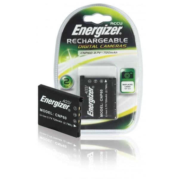 Batería Energizer CNP60 para Casio