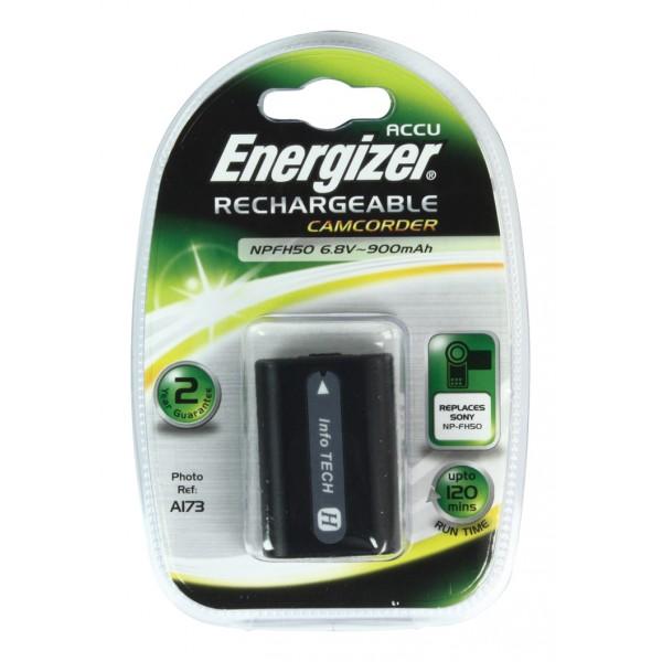 Batería Energizer NPFH50 para Sony