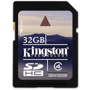 Tarjeta SDHC Kingston 32GB