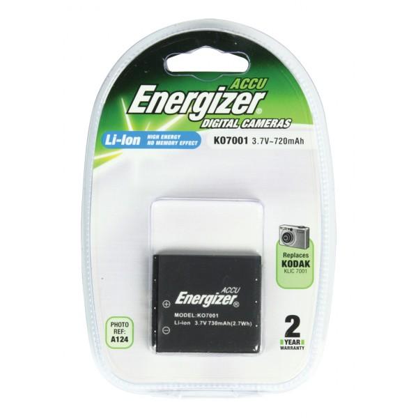 Batería Energizer KO7001 para Kodak