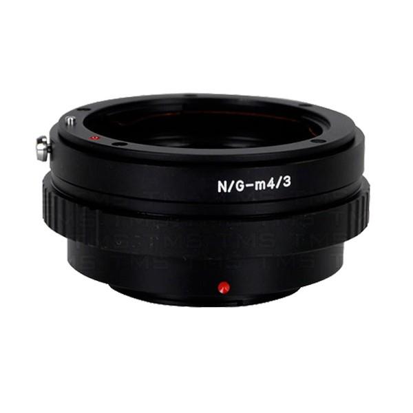 Anillo adaptador para bayoneta Nikon G Micro 4/3