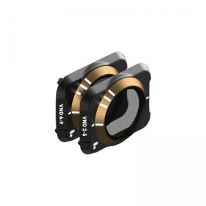 Polar Pro Combo de filtros Variable ND Cinema series para Mavic air 2 con ajuste variable de 2-5 y 6-9 paradas