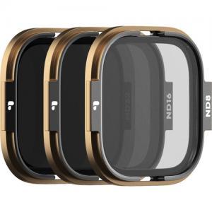 Polar Pro Pack de 3 filtros para gopro hero 8 (ND8/ND16/ND32)