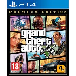 Juego PlayStation 4 Grand Theft Auto V Premium Edition