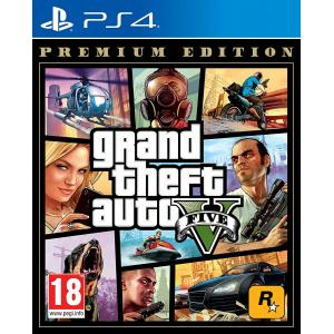 Juego PlayStation 4 Grand Theft Auto V Premium Edition