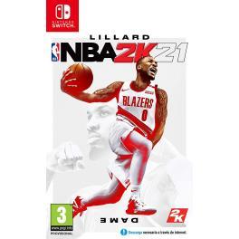 Juego nintendo switch NBA 2K21