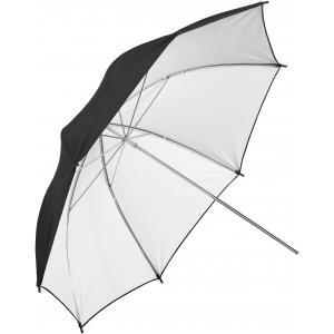 Paraguas blanco y negro 109 cm