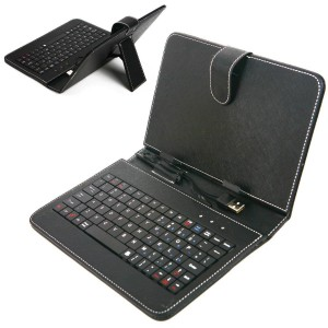 """Funda con teclado 9.7"""" Negro"""