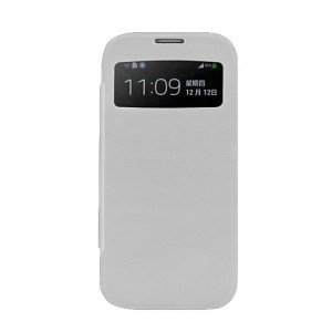 Funda con powerbank móvil Galaxy S4 Blanco