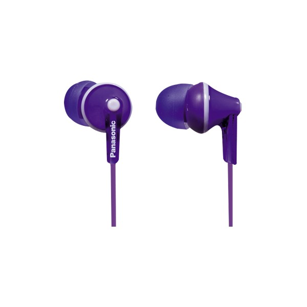 Auriculares Panasonic RPHJE125 Violeta