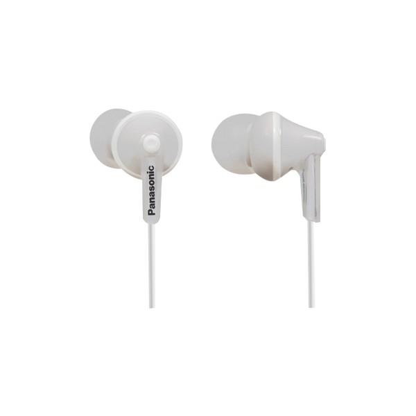 Auriculares Panasonic RPHJE125 Blanco