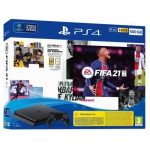 PlayStation 4 500Gb + Fifa 21