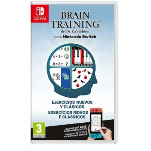 Juego Nintendo switch BRAIN TRAINING