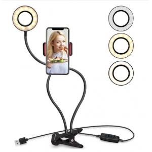 Soporte flexible para movil con aro de luz UPFK-AL06
