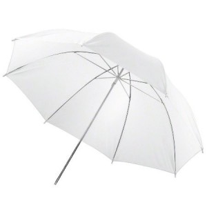 Paraguas traslúcido de fiberglass 152 cm