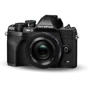 Cámara Olympus OM-D E-M10 Mark IV zwart + 14-42mm EZ zwart