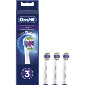 Recambio Cabezales para cepillo de dientes Braun Oral-B 3D White EB18-3