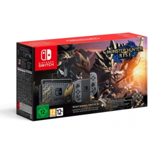 Consola Nintendo Switch + Monster Hunter Rise