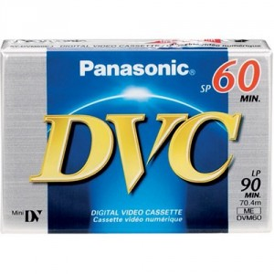 Cinta DVC 60minutos Panasonic