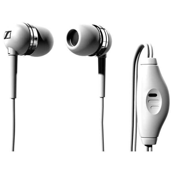 Auriculares Sennheiser MM50 iPhone Blanco