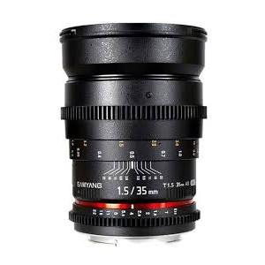 Samyang 35mm T1.5 AS IF UMC para Nikon